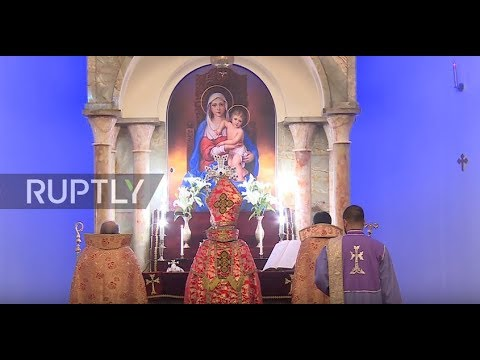 Iran: Armenian Christians celebrate New Year in Tehran