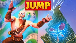 CAN YOU JUMP FROM MAX HEIGHT INTO PORTALS | Fortnite Mythbusters
