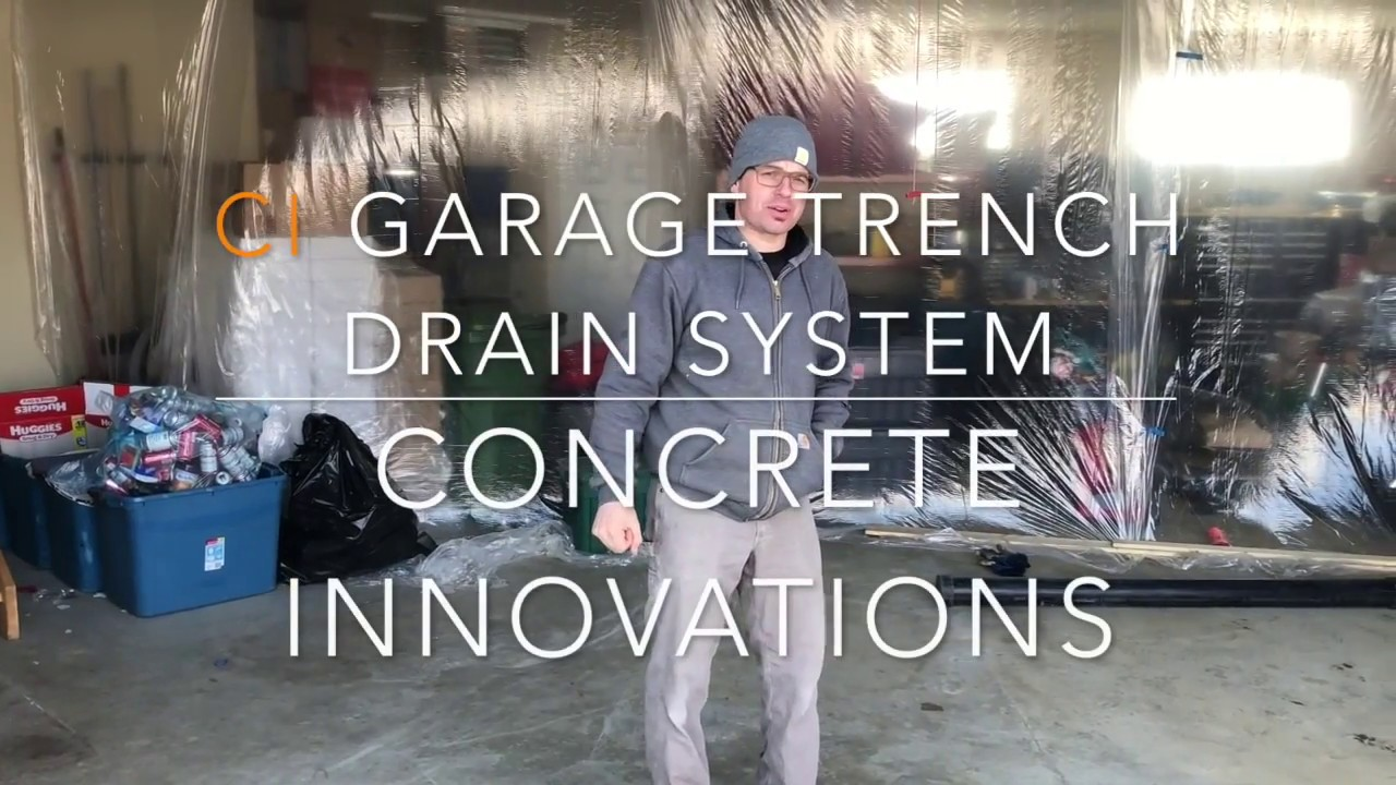 Step By Step Installation Of A Garage Trench Drain System Seven