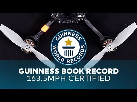 179mph Drone - World Record Quad Discussion