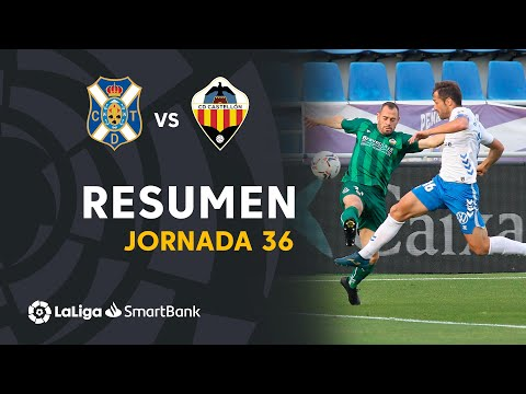 Tenerife Castellon Goals And Highlights