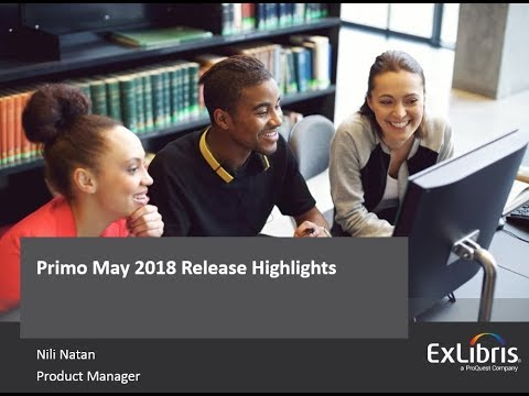 Primo May 2018 Release Overview