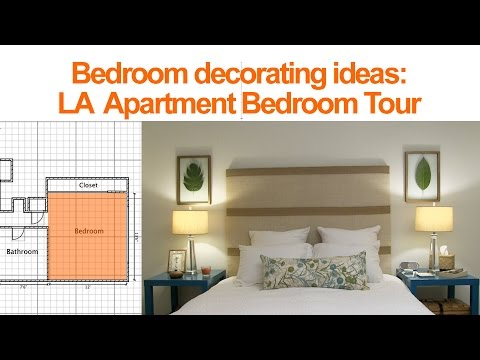 Bedroom decorating ideas la apartment bedroom tour youtube for Bedroom designs youtube