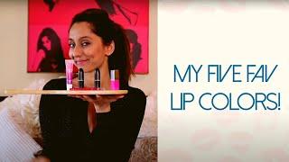 My Favourite Lip Colours | Anusha Dandekar | Best of VJ Anusha