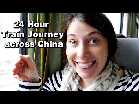 SOLO OVERNIGHT TRAIN TRAVEL IN CHINA | 24 Hour Journey from Zhangjiajie to Chengdu
