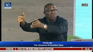 The Platform: Obi Says Whoever Owned Stashed Cash Could Have Helped Nigeria Economically Pt 2