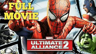 Marvel Ultimate Alliance 2 Movie or ALL Cutscenes,Epic Action