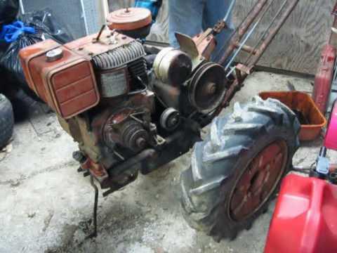 Simplicity Vb 2 Wheel Tractor Youtube