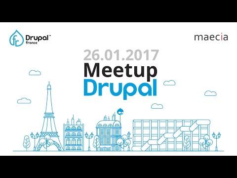 Drupal Meetup @Agence Maecia, Paris. #DrupalFR