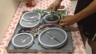 видео Ремонт электрической варочной поверхности Bosch