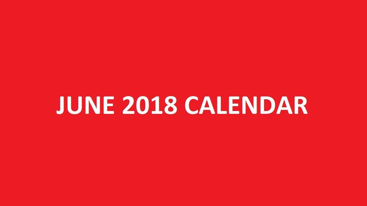 june 2018 calendar printable holidays pdf