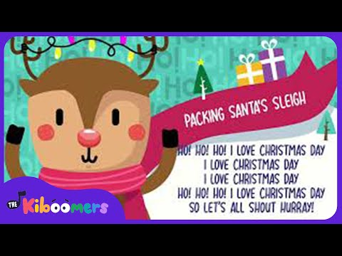 Packing Santa's Sleigh | Christmas Song for Kids | The Kiboomers | Santa Claus | Preschool