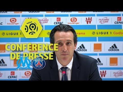 Conférence de presse Olympique de Marseille - Paris Saint-Germain (2-2) - 10ème journée / 2017-18