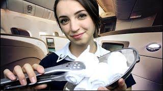 [ASMR] International First Class Flight Attendant (Soft Spoken) thumbnail