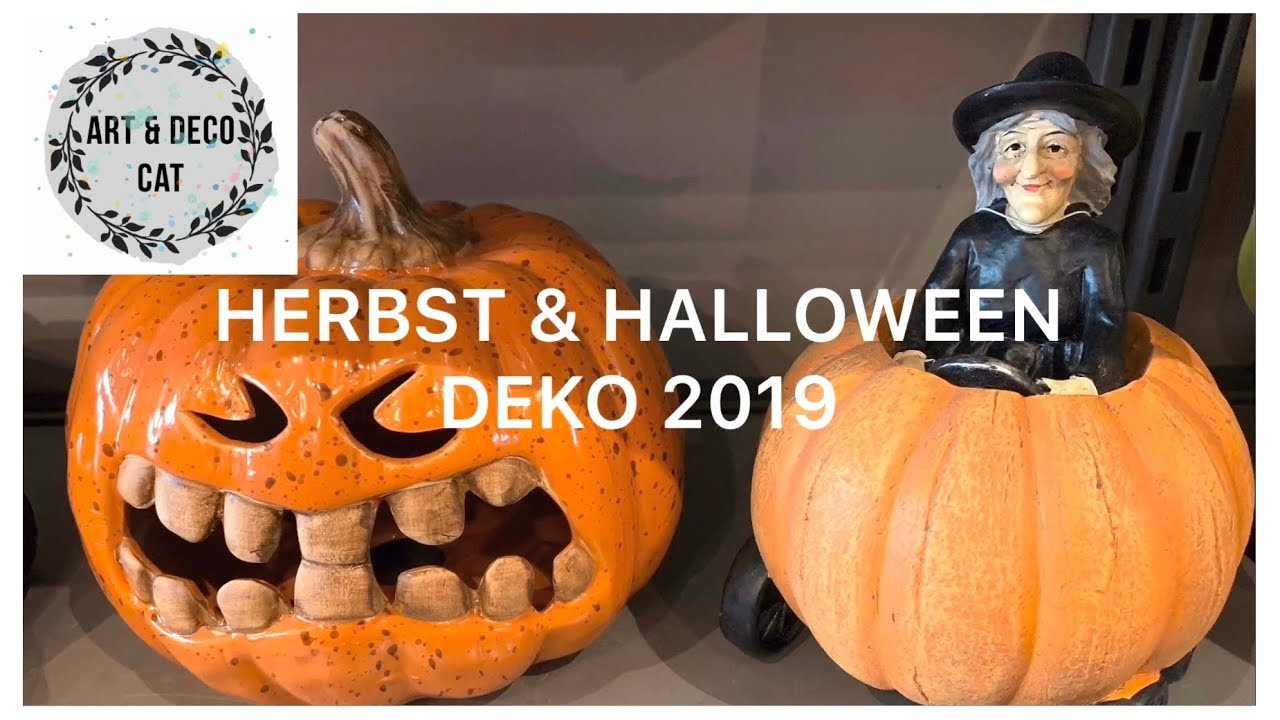 Herbst Und Halloween Deko 2019 Shop With Me H M Home Tk Maxx Depot Kik Dm Tedi Claire S Youtube