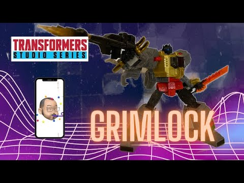 Transformers Studio Series 86 Grimlock Review By Aikavari