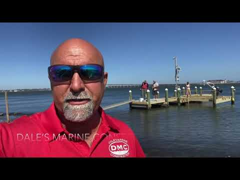 MARINE CONTRACTOR VLOG/ completion of hurricane Sally repairs on a dock and seawall.