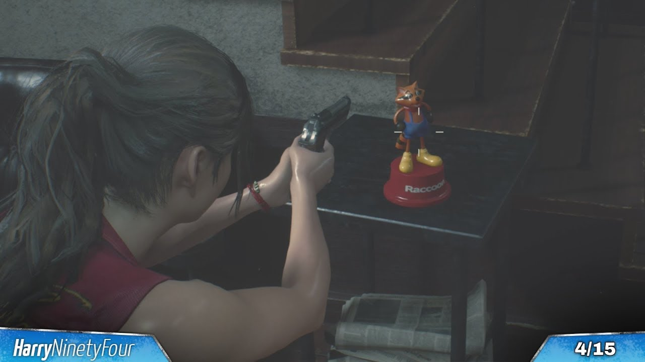 Resident Evil 2 - All Mr Raccoons Locations