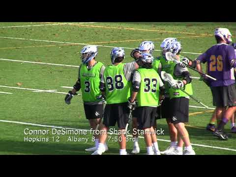 2017 Albany vs Hopkins Fall Ball Lacrosse Scrimmage Highlights