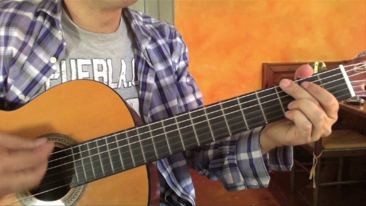 how to play i think i love you on guitar