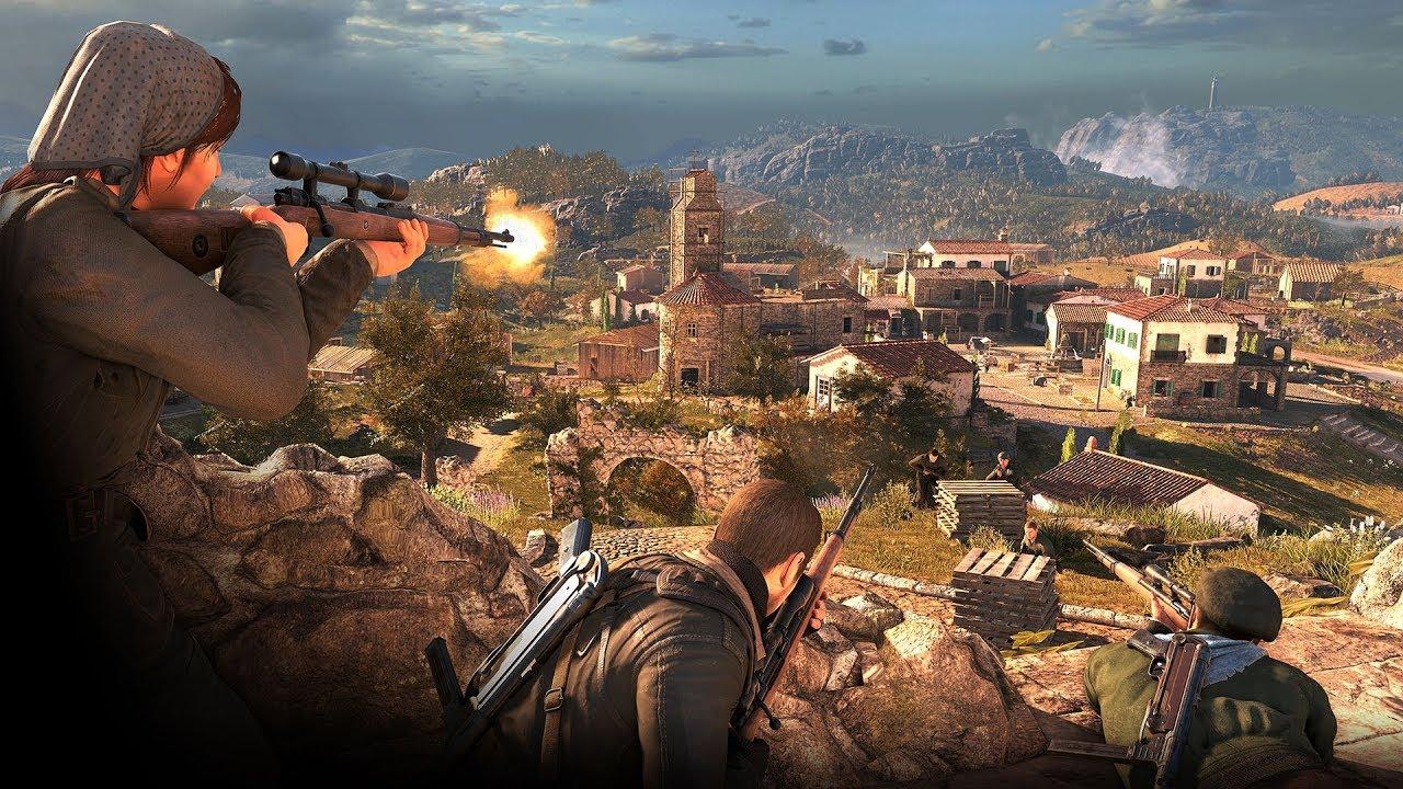 Sniper Elite 4 - The Co Op GODS!
