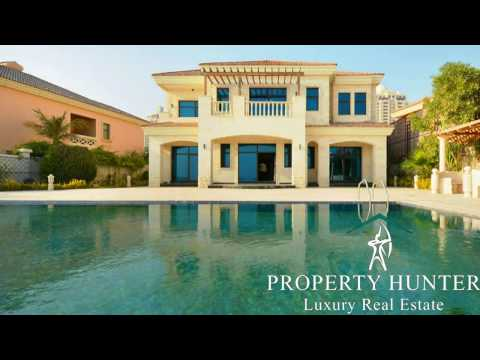 Villa for Sale at The Pearl West Villas  Doha Qatar - Ref #4529 By Property Hunter
