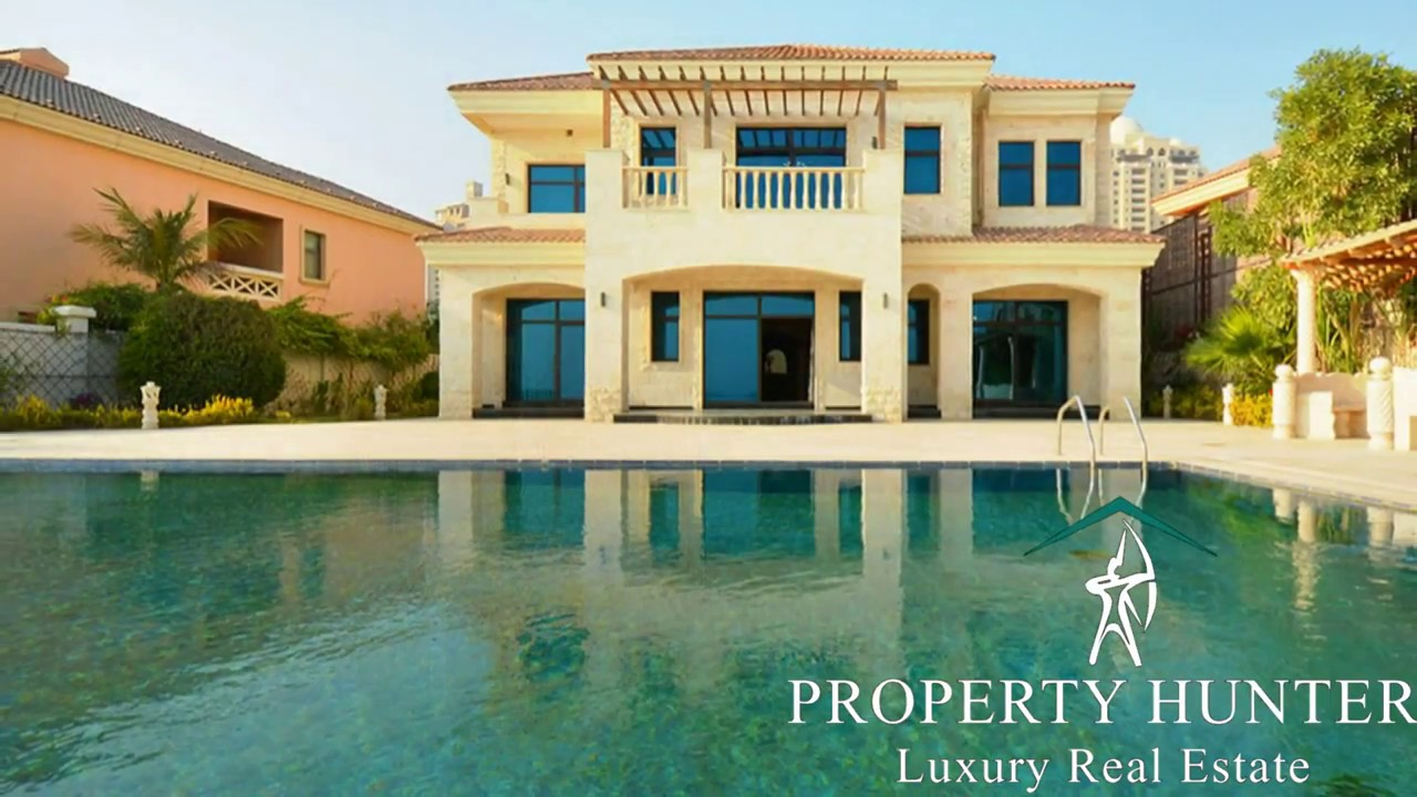 Villa For Sale At The Pearl West Villas Doha Qatar Ref