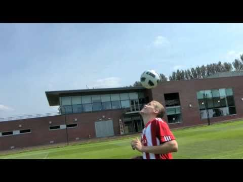 MATCH TV - The Heads-Up Challenge - Ryan Shawcross!