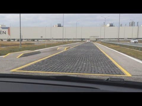 AUTOMIX.SK: PSA Peugeot Citroen Trnava testing track