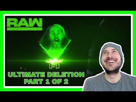 ULTIMATE DELETION REACTION 1 OF 2 | WOKEN MATT HARDY vs BRAY WYATT | WWE RAW March 19, 2018