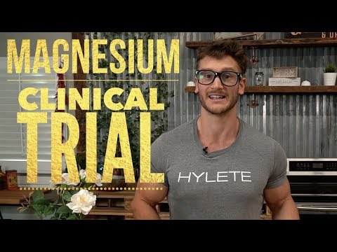 Magnesium Absorbency: Our Clinical Trial Results- Thomas DeLauer