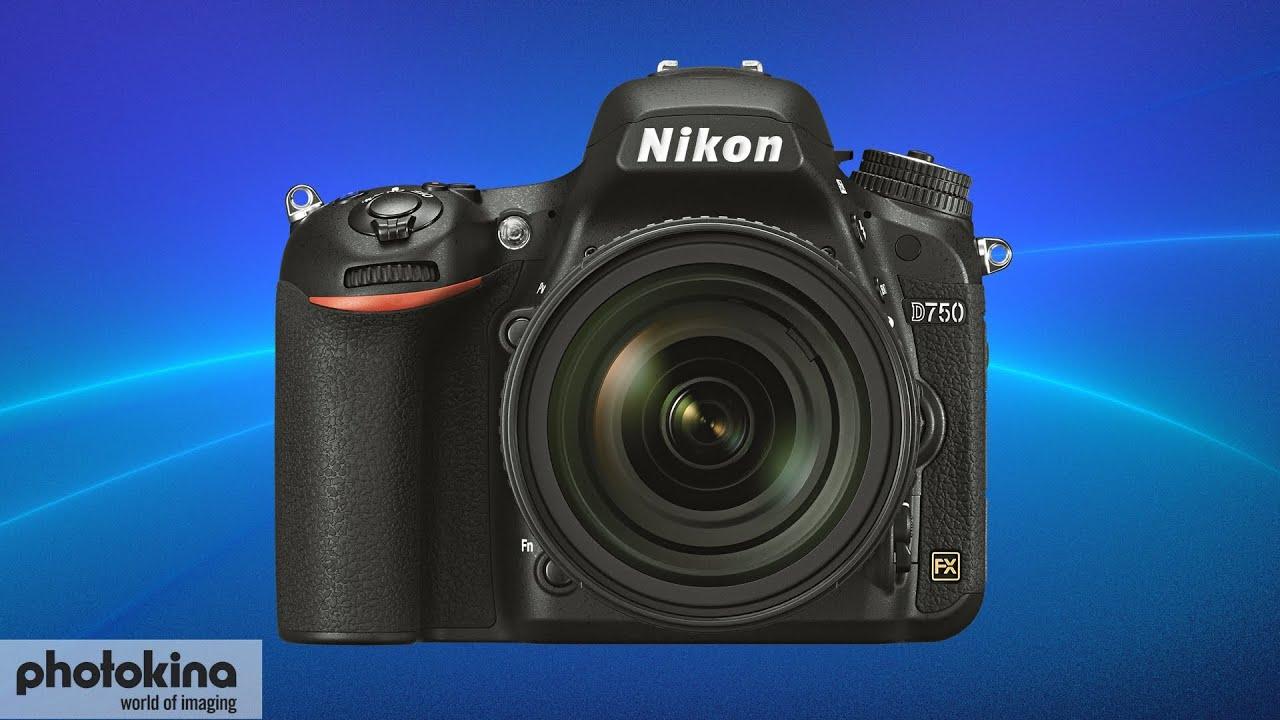 Nikon D750 - Vollformatsensor-Kamera - YouTube
