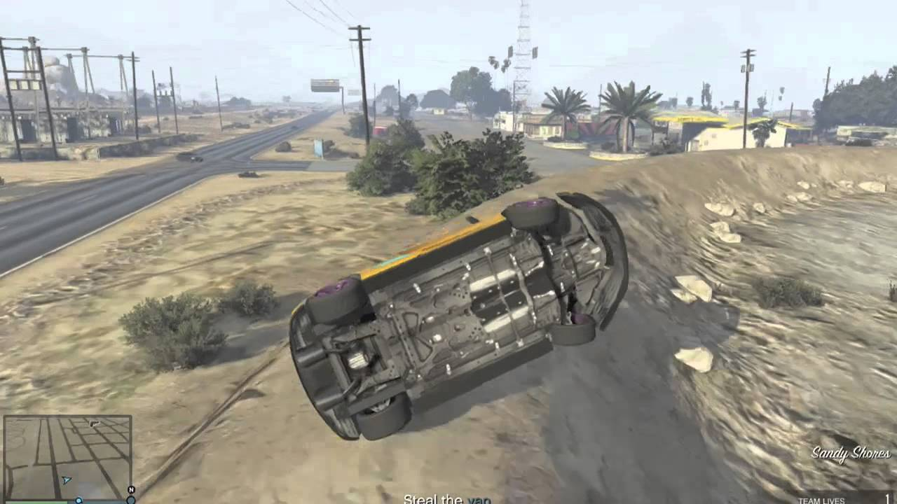 GTA 5 - 9F Cabrio Landings - YouTube