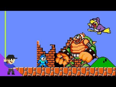 Mega Man Would Be OP In Super Mario Bros.