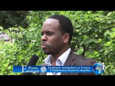 Reportage sur les étudiants sénégalais en France