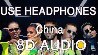 Anuel AA, Daddy Yankee, Karol G, Ozuna & J Balvin - China (8D AUDIO🎧)