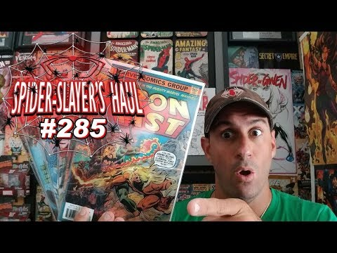 """Spider-Slayer's Haul #285 """"How much 💰 did you spend on Lenticular Covers?"""""""