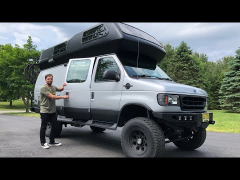 MEGA VANLIFE TOUR | 4x4 Overland Off Road Airstream B190 Ujoint RV Conversion Motor Home