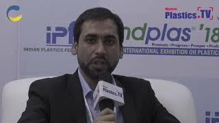 An exclusive interview with Mr. Khalid Stanikzai at IndPlas 2018, Kolkata. www.ModernPlastics.TV