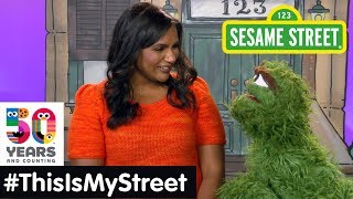 Sesame Street Memory: Mindy Kaling | #ThisIsMyStreet