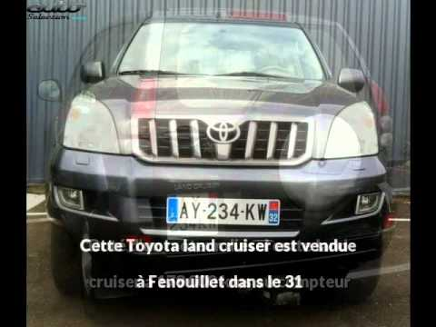 dune 4x4 pr sente une toyota land cruiser occasion fenouillet youtube. Black Bedroom Furniture Sets. Home Design Ideas