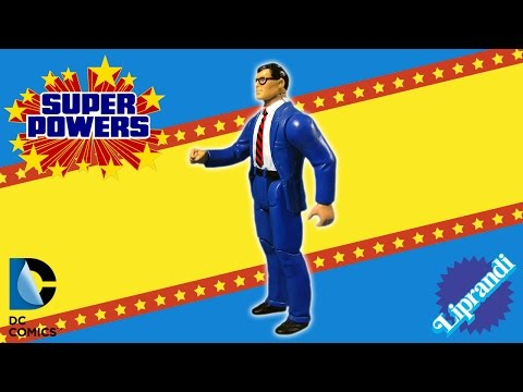 KENNER SUPER POWERS COLLECTION - CLARK KENT ACTION FIGURE REVIEW (ita)
