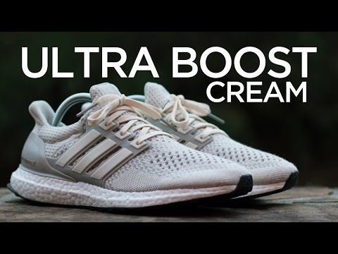 Ultra Boost Adidas Cream