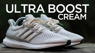 closer look adidas ultra boost cream