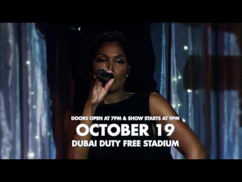 Toni Braxton Live In Dubai 2017