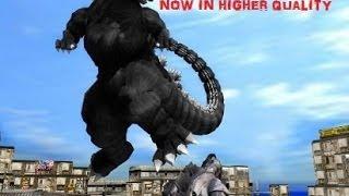 MMD Godzilla - Godzilla VS The Army, MOGUERA, and MechaGodzilla