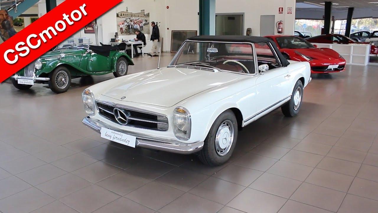 Mercedes Benz 230sl Cabrio Pagoda 1964 Revisi 243 N En