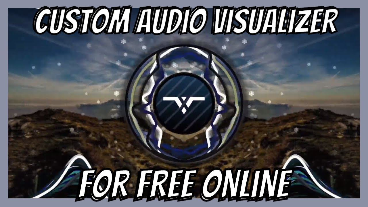 How To Make An Audio Visualizer For Free Online Updated Youtube