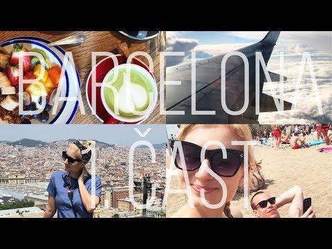Magická fontána, Halle Berry na pláži a kabelka z prostěradla ♥ Barcelona 1/2