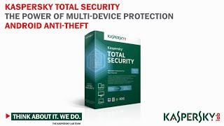Kaspersky Total Security Features: Anti-Theft